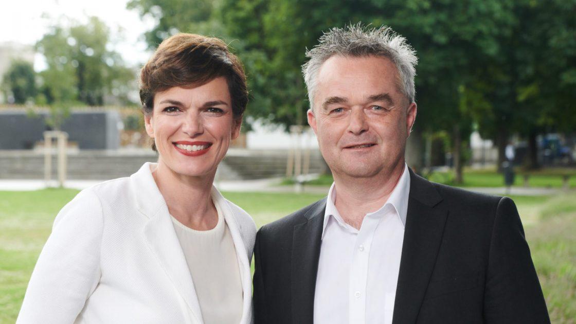 Pamela Rendi-Wagner und Ingo Reisinger