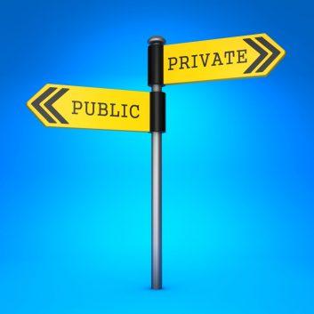 Privat oder öffentlich?