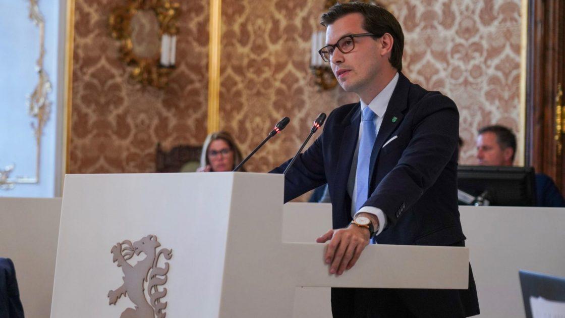 Umweltsprecher Stefan Hofer