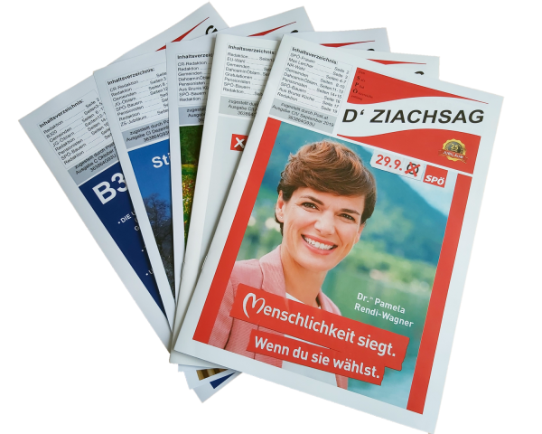 Ziagsag_Zeitung Collage